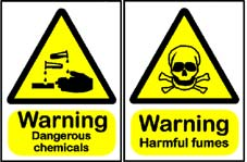 More info on Dangerous Chemicals/Fumes Hazard Warning Signs