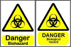 More info on Biohazard Warning Signs