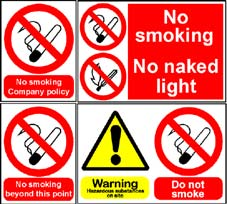 More info on Smoking Control Signs