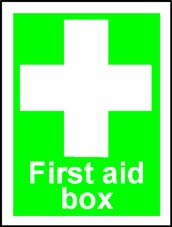 More info on 'First Aid Box' - Safety Sign