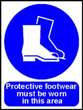 More info on 'Protective Footwear Must Be Worn In This Area' - Safety Sign